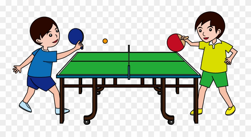 Table tennis images clipart banner download Ping Pong Clip Art - Playing Table Tennis Clipart - Png ... banner download