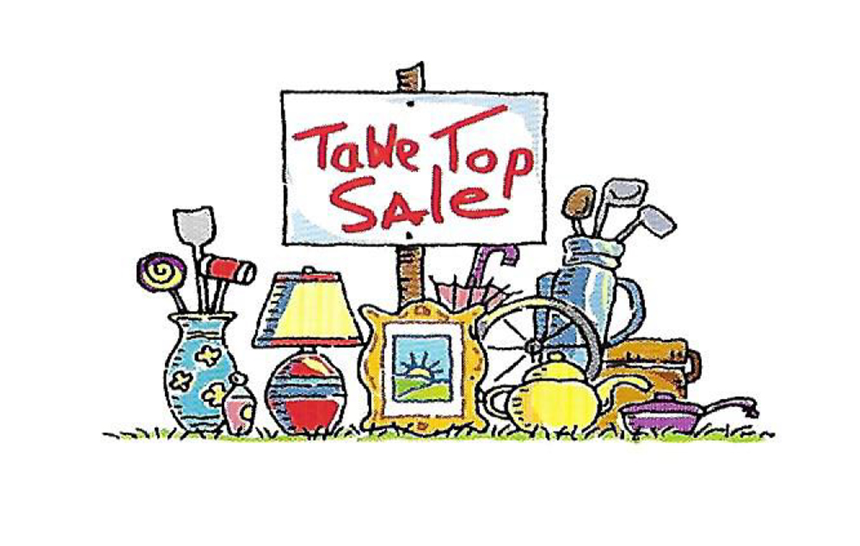 Table top sale clipart clipart freeuse stock Table Top Sale 25th February 2018 - Welcome to Berrow ... clipart freeuse stock