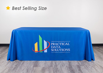 Tablecloth prints clipart banner transparent library Table Covers – Custom Tablecloths   Totally Promotional banner transparent library
