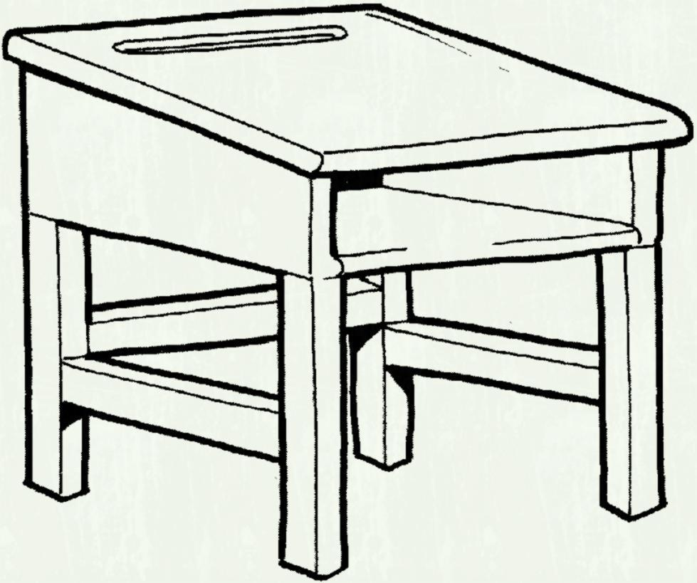 Tables clipart black and white vector transparent School table clipart black and white 3 » Clipart Portal vector transparent