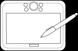 Tablet clipart white outline clip transparent Free Tablet Cliparts, Download Free Clip Art, Free Clip Art ... clip transparent