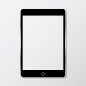 Tablet clipart white outline image transparent Tablet Vectors, Photos and PSD files | Free Download image transparent
