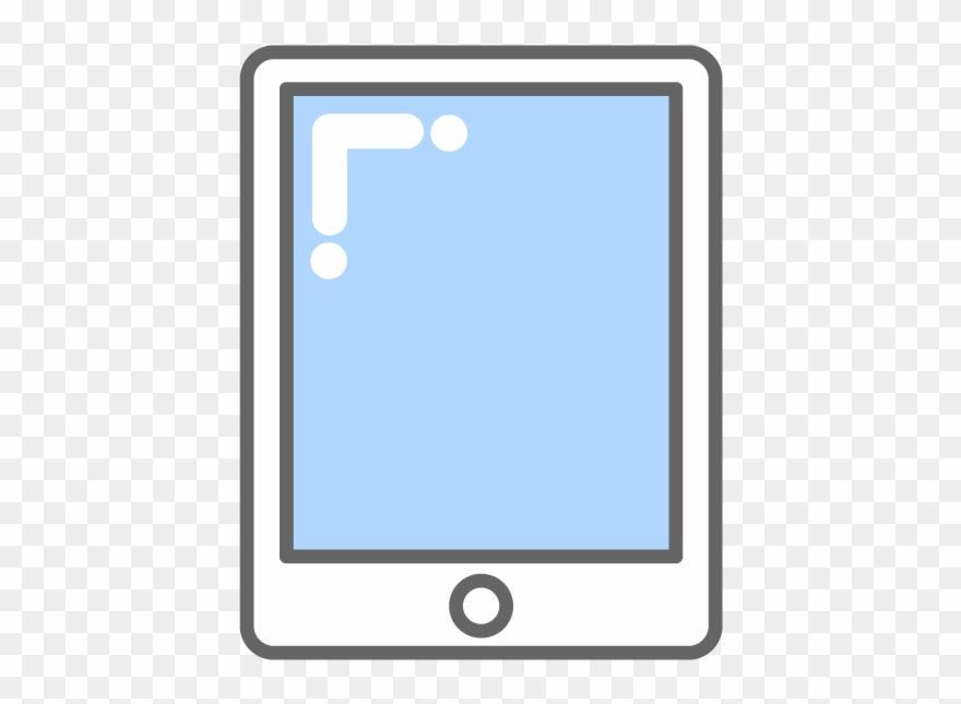 Tablet pc clipart clip transparent library Ipad Clipart Tablet Pc - Tablet Clipart - Png Download ... clip transparent library