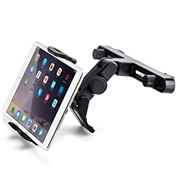 Tablet stand clipart banner black and white iKross Tablet Holder for Car, 360 Degree Headrest Mount for iPad Pro Mini  Nintendo Switch Kindle Samsung Galaxy Tab banner black and white