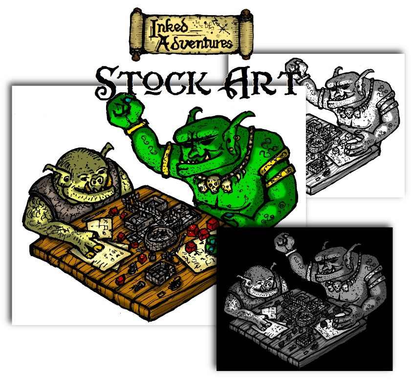 Tabletop rpg clipart clip transparent stock Best. Clipart. Ever. ---- *Flattered* This is my own work ... clip transparent stock