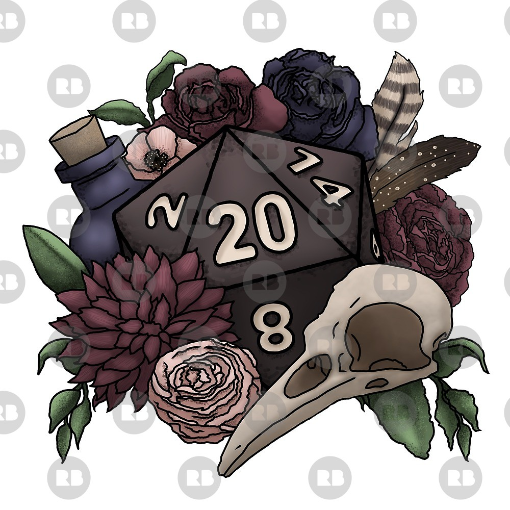 Tabletop rpg clipart png royalty free library Necromancer D20 Tabletop RPG Gaming Dice\