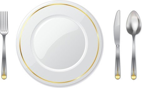 Tableware clipart banner library library Free Western Tableware Clipart and Vector Graphics - Clipart.me banner library library