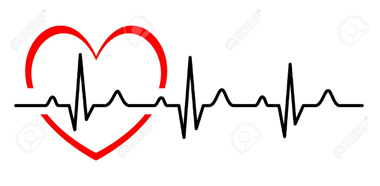 Tachycardia clipart vector black and white library Ekg clipart heart monitor line - 187 transparent clip arts ... vector black and white library