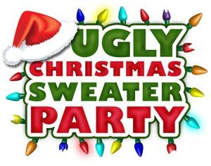 Tacky christmas costumes clipart clipart black and white stock Ugly Christmas Clipart | Free download best Ugly Christmas ... clipart black and white stock
