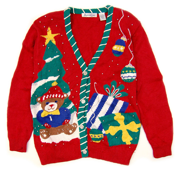 Tacky holiday sweater clipart jpg freeuse Ugly Holiday Sweater Day — Starrlight Mead jpg freeuse