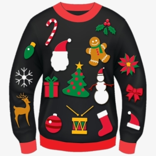 Tacky holiday sweater clipart clip art royalty free library Free Ugly Sweater Clipart Cliparts, Silhouettes, Cartoons ... clip art royalty free library