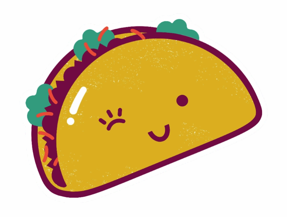Taco clipart free royalty free download Tacos Clipart Smile - Transparent Taco Free PNG Images ... royalty free download