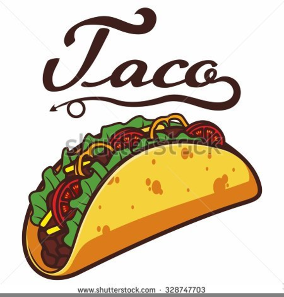 Taco clipart images image library Soft Taco Clipart Free Images At Clker Com Vector Clip Art ... image library