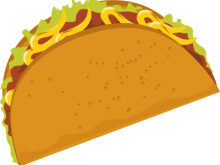 Taco shell clipart clip royalty free stock Taco clipart cartoon for free download and use images in ... clip royalty free stock