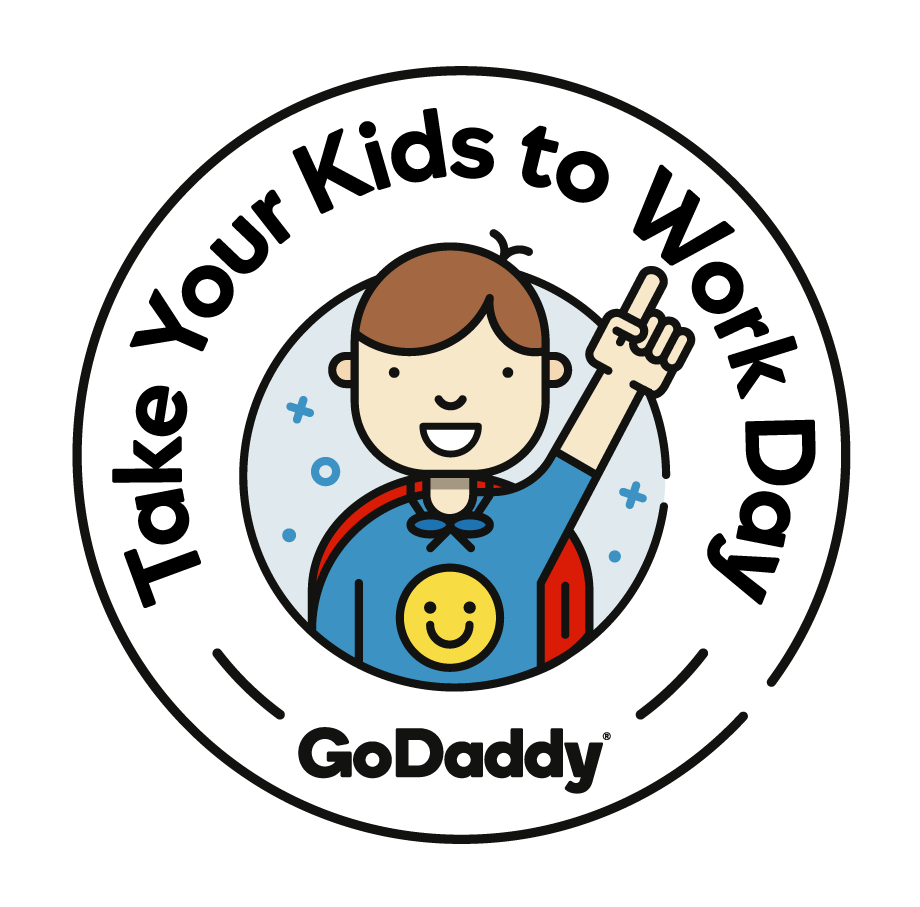 Taek kid to work clipart image GoDaddy Celebrates \'Take Your Kids To Work Day\' with ... image
