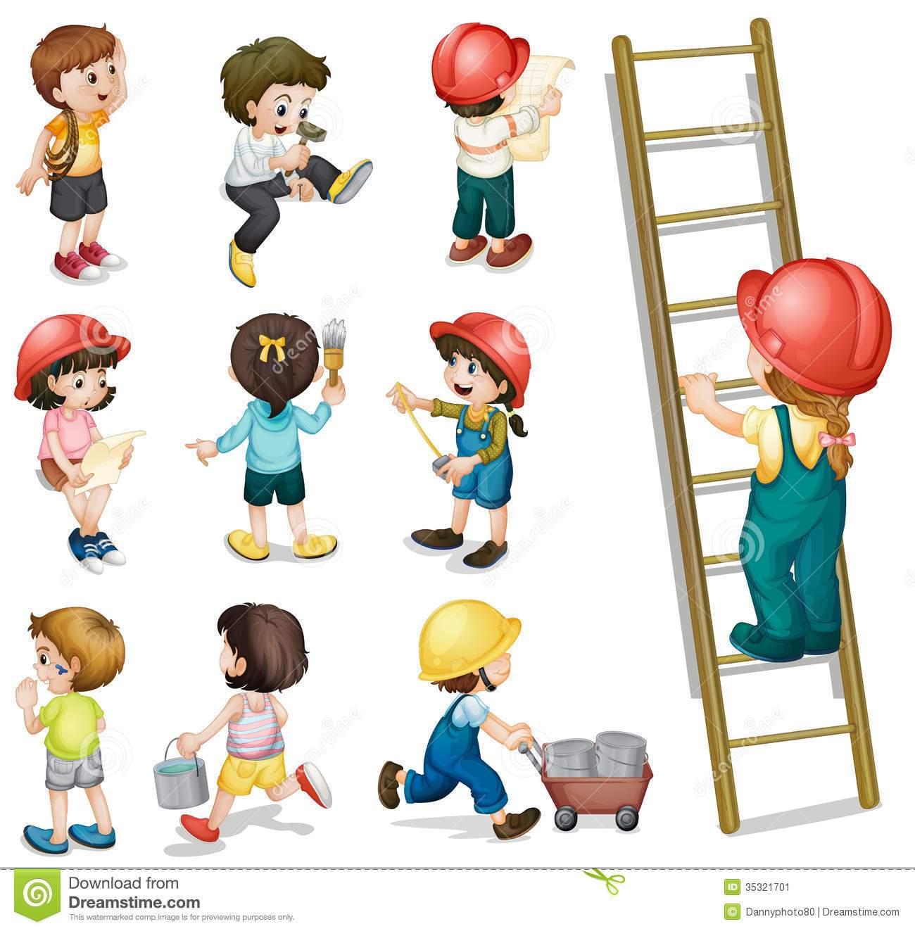 Taek kid to work clipart image freeuse Kids at work clipart 3 » Clipart Portal image freeuse