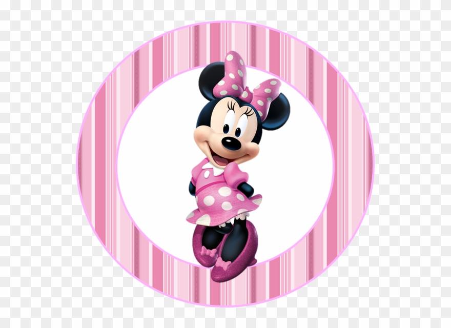 Tag para imprimir clipart rosa picture library download Mini Kit De Minnie Rosa Para Imprimir Gratis - Topo De Bolo ... picture library download
