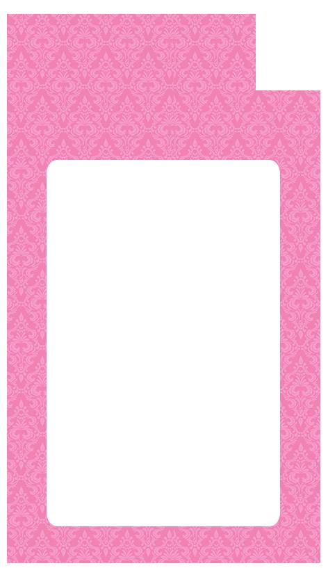 Tag para imprimir clipart rosa png black and white stock Modelos de scrapbook clipart images gallery for free ... png black and white stock