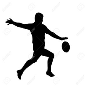 Tag rugby clipart picture black and white stock Touch Rugby Clipart | Free Images at Clker.com - vector clip ... picture black and white stock