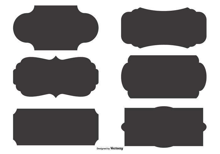 Tag vectors brown clipart jpg download Vector Label Shape Set - Download Free Vectors, Clipart ... jpg download