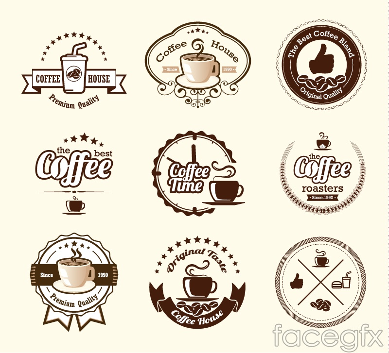 Tag vectors brown clipart banner royalty free stock 9 brown coffee tags design vector – Over millions vectors ... banner royalty free stock