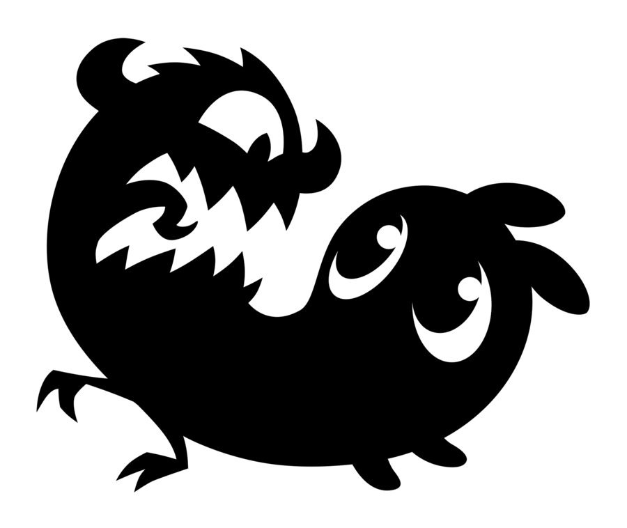 Tail with baseball clipart png black and white stock Creepy Clipart Cute Free collection | Download and share Creepy ... png black and white stock