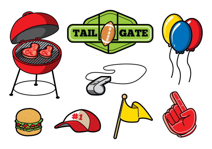 Tailgate food clipart picture black and white download Free Truck Tailgate Cliparts, Download Free Clip Art, Free ... picture black and white download
