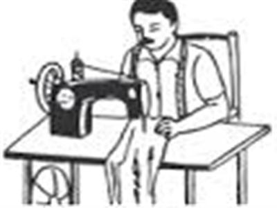 Tailor clipart black and white clip art free best Tailor in Rajkot clip art free