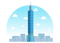 Taipei 101 clipart banner transparent library Search Results for taiwan - Clip Art - Pictures - Graphics ... banner transparent library