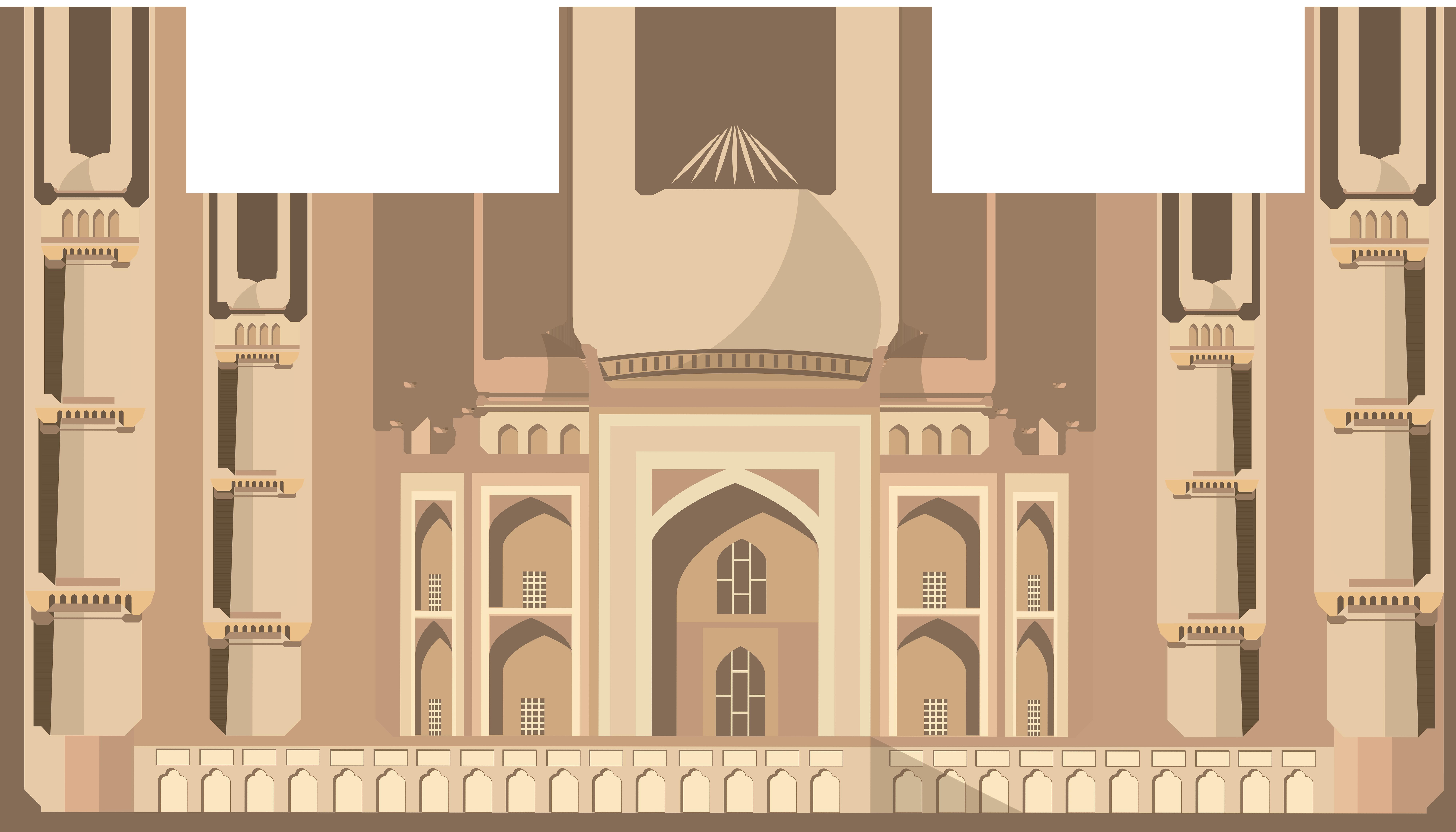 Taj clipart clip freeuse download Taj Mahal India PNG Clip Art - Best WEB Clipart clip freeuse download