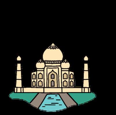Taj mahal clipart image free library Landmarks - Taj Mahal   Clipart   PBS LearningMedia image free library