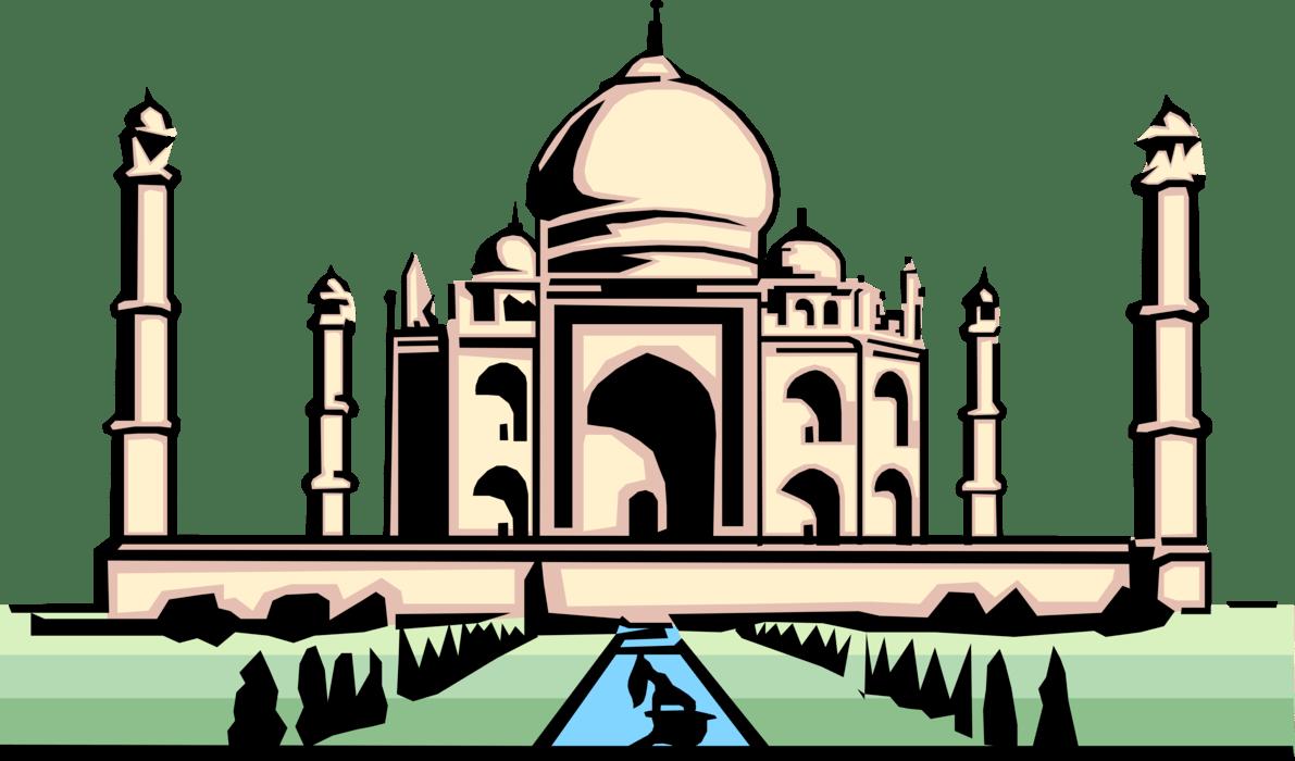 Taj clipart transparent stock Taj mahal clipart png 4 » Clipart Portal transparent stock