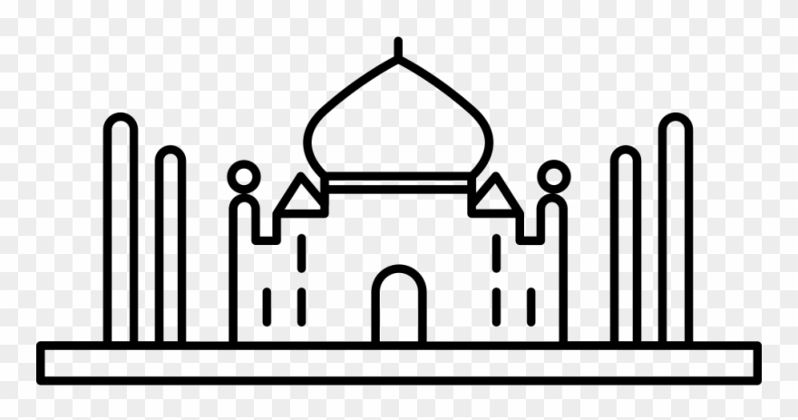 Taj logo clipart banner transparent library Taj Mahal Comments - Taj Mahal Clipart (#1919579) - PinClipart banner transparent library