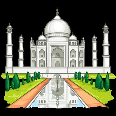 Taj mahal clipart free Download TAJ MAHAL Free PNG transparent image and clipart free