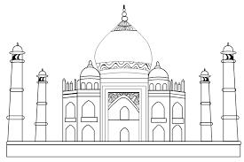 Taj mahal clipart jpg Image result for taj mahal clipart   india   Taj mahal ... jpg