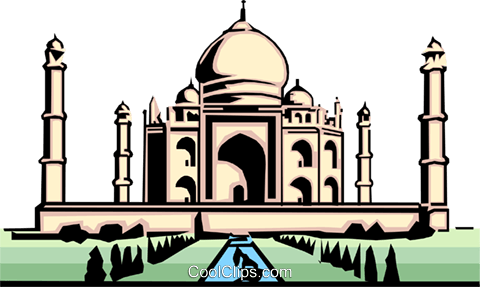 Taj mahal clipart free picture stock Taj Mahal Royalty Free Vector Clip Art illustration ... picture stock