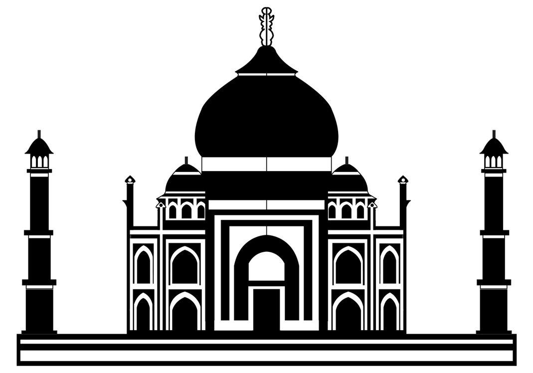 Taj mahal vector clipart banner free Taj Mahal Vector - ClipArt Best - Cliparts.co banner free