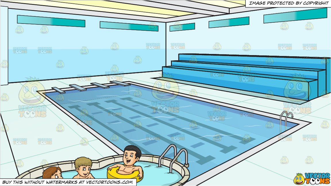 Take a dip swimming clipart clip art free download Three Friends Enjoying A Dip In The Pool and Indoor Olympic Size Swimming  Pool Background clip art free download