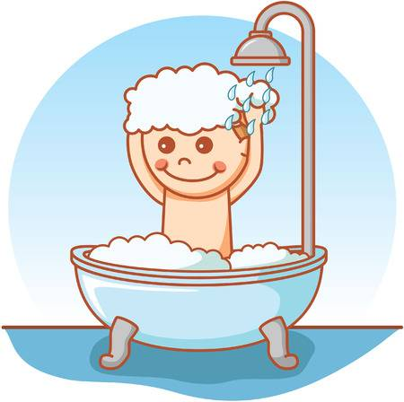 Take a shower clipart clip art freeuse library Taking a shower clipart 5 » Clipart Station clip art freeuse library