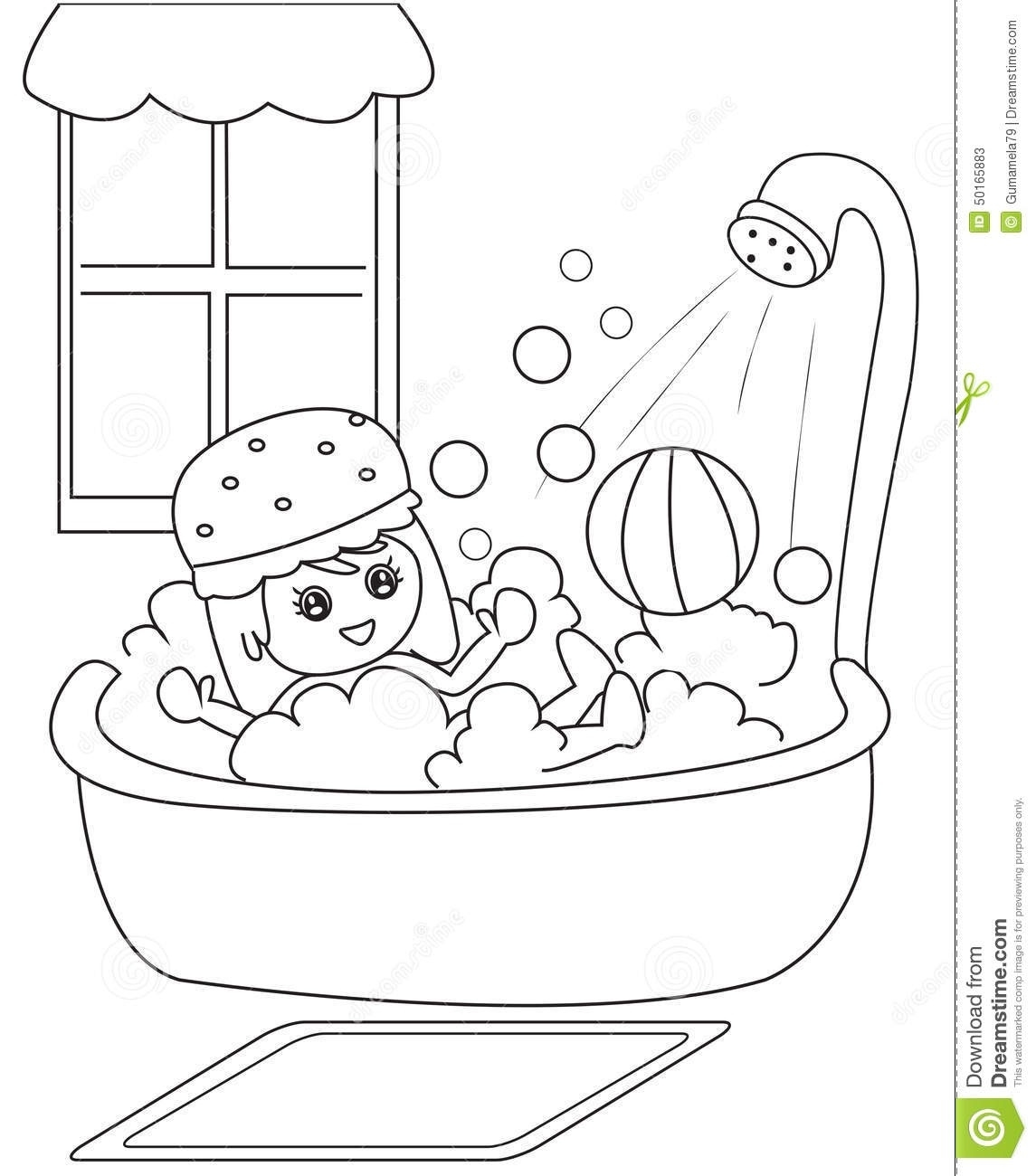 Take a shower clipart black and white clip art library library Clipart Of Black Boy Taking A Shower – Clipground for Taking ... clip art library library