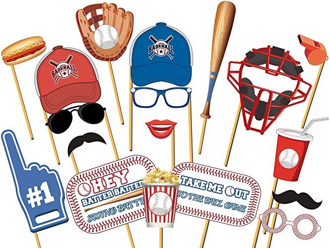 Take me out to the ballgame clipart clip art freeuse download Amazon.com: Baseball Sports Photo Booth Prop Baseball Fan ... clip art freeuse download