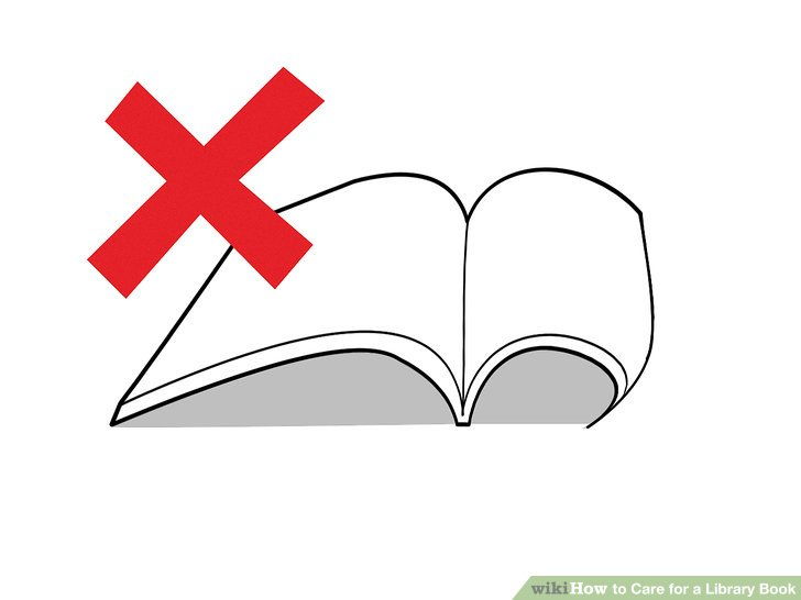 Take out your book clipart vector free download 3 Ways to Care for a Library Book - wikiHow vector free download