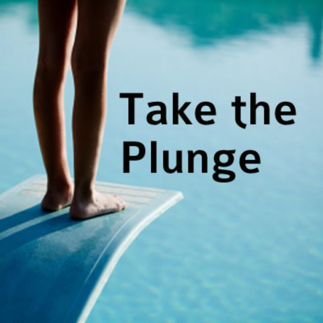 Take the plunge vbs clipart royalty free stock Take the Plunge | Script royalty free stock
