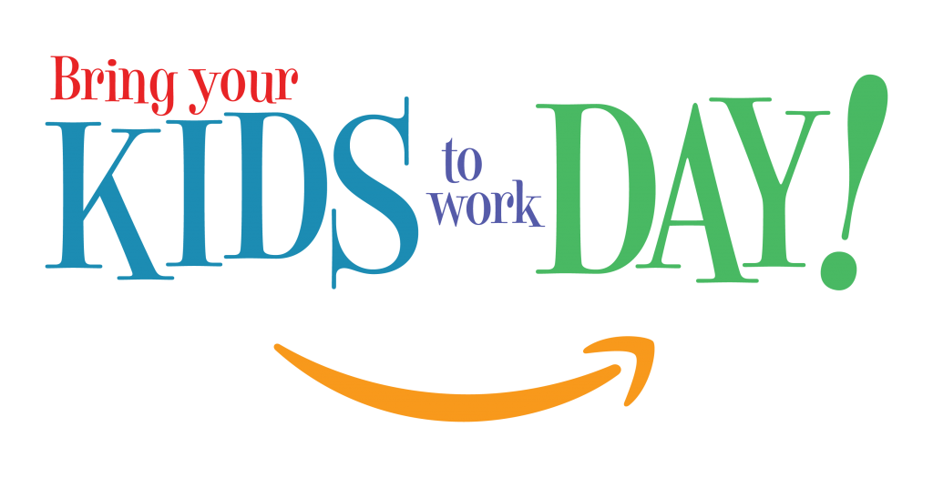 Take your child to work day clipart graphic transparent library Amazon Bring Your Kids To Work Day!   Zach Roy Visual Designer graphic transparent library