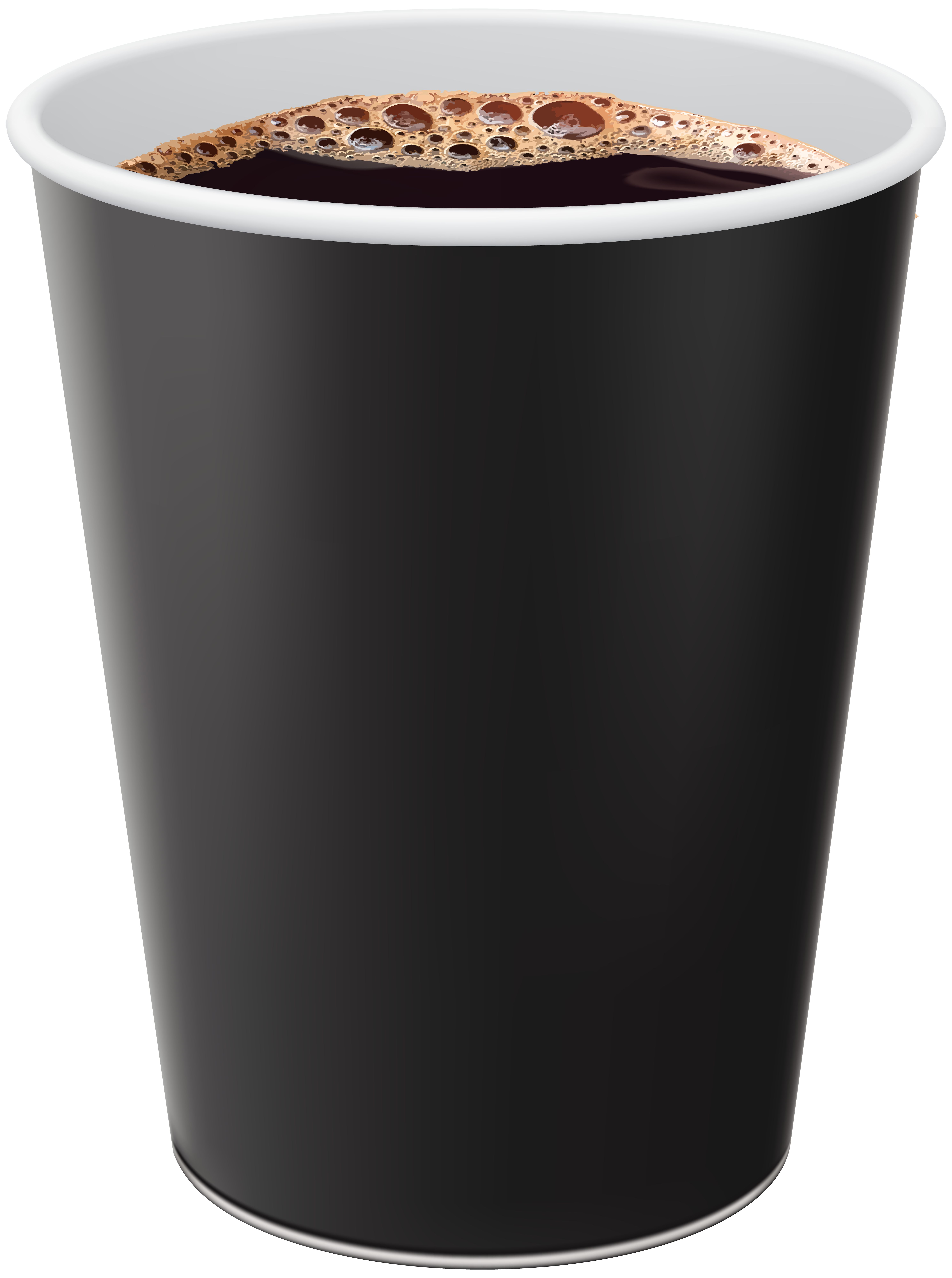 Takeaway coffee clipart svg black and white library Takeaway Coffee Cup PNG Clip Art | Gallery Yopriceville ... svg black and white library