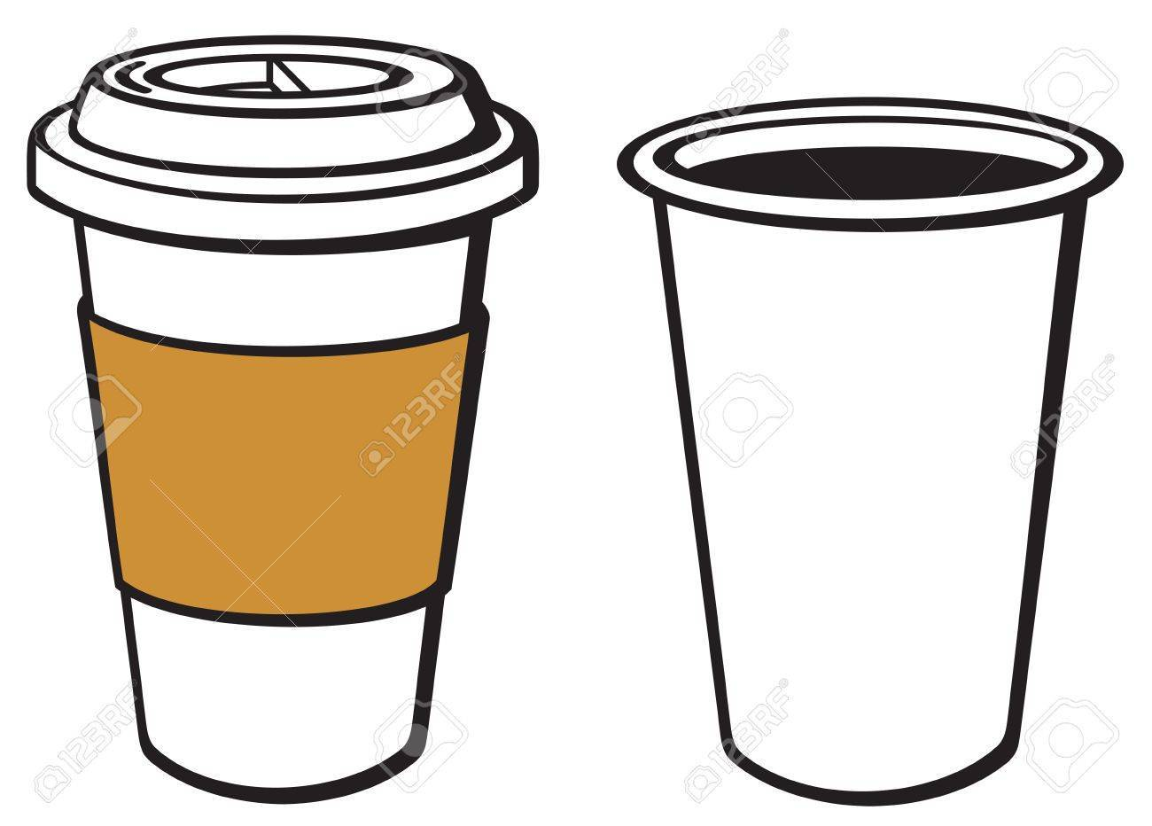 Takeaway coffee clipart vector free library Takeaway coffee clipart 2 » Clipart Portal vector free library