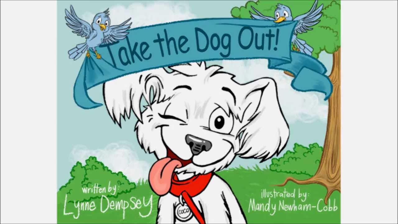 Taking a dog out clipart jpg royalty free stock Take the Dog Out! Video (Author: Lynne Dempsey) jpg royalty free stock