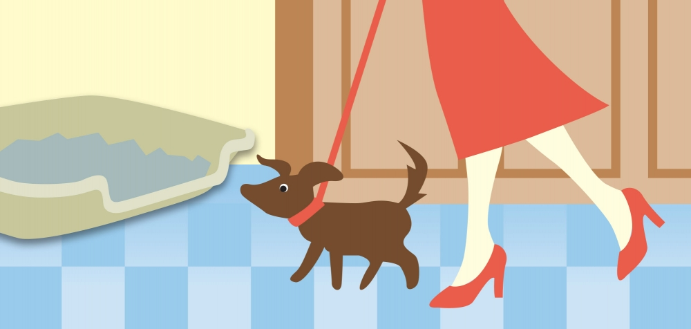 Taking a dog out clipart image library library Puppy Pan Provides an Innovative, Clean, Convenient, and ... image library library