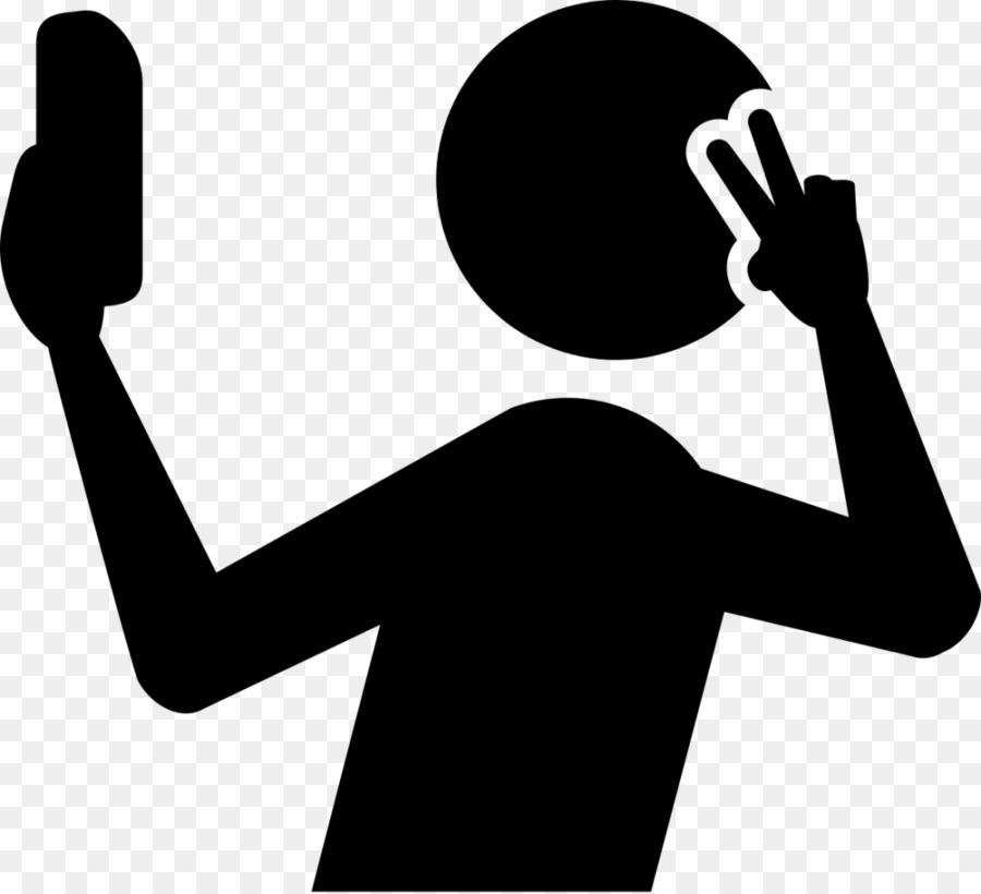 Taking a selfie clipart silhoette svg transparent stock Microphone Cartoon clipart - Silhouette, Hand, Text ... svg transparent stock