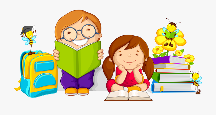 Taking care of books clipart svg royalty free library Caring Clipart Book - Kids Studying Cartoon #49528 - Free ... svg royalty free library